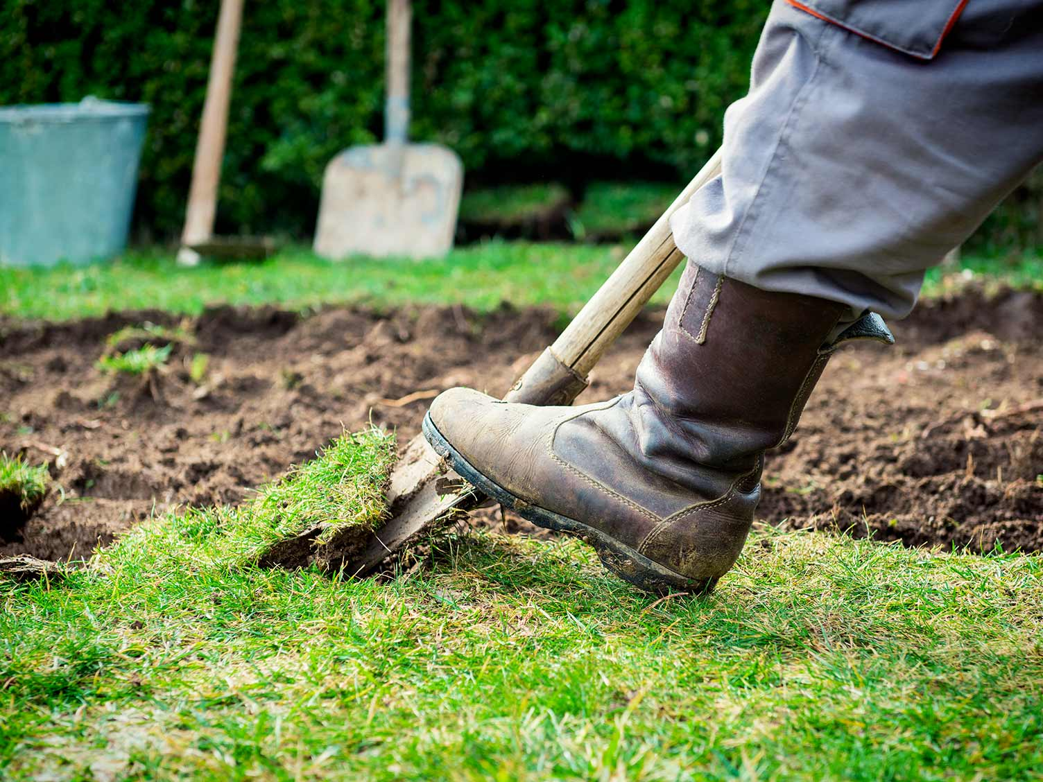 Complete guide to levelling a lawn | lovethegarden
