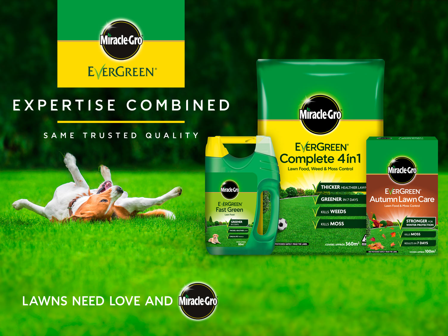 Miracle-Gro® EverGreen® - Expertise Combined