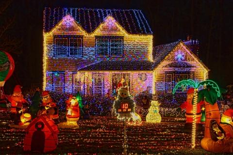 Déco de Noel en extérieur et décoration lumineuse du jardin | Blog ...