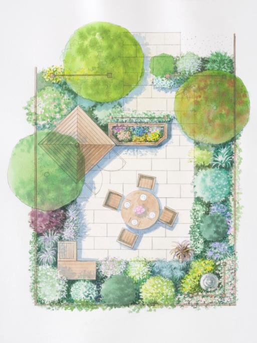 Modele De Jardin La Pause Jardin Concevoir Un Plan De Jardin