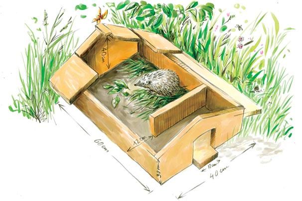 Abri Pour Les Herissons Cabanes De Protection La Pause Jardin