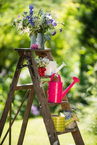 Décoration du jardin avec des objets de récupération - La Pause Jardin