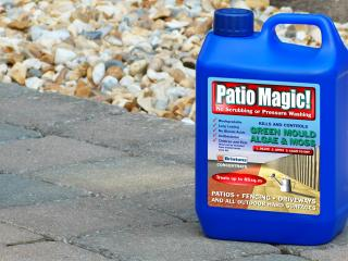 How to clean paving and patios