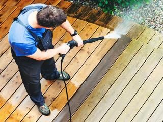 How to clean garden decking effectively
