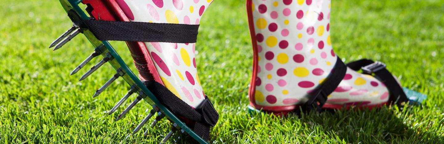 A Guide To Using Lawn Aerator Lovethegarden