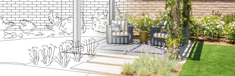 Modèle de Jardin : La Pause Jardin, Concevoir un plan de jardin