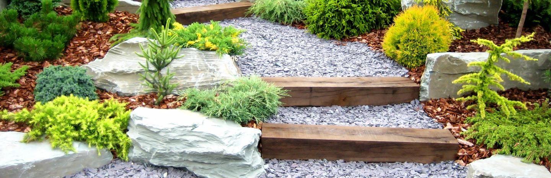 Garden Landscaping with Railway Sleepers | Love The Garden