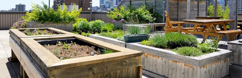 Roof Top Garden Design Ideas Love The Garden