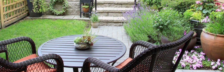 Small Patio Ideas Love The Garden