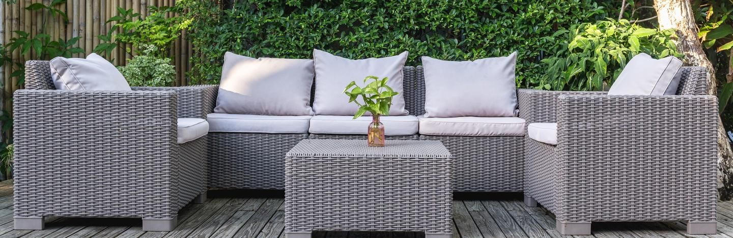 Garden furniture: add the finishing touch to your garden