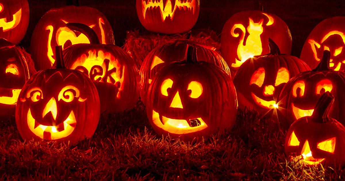 Bouche Citrouille Halloween.Faire Citrouille Halloween La Pause Jardin Creer Un Citrouille D Halloween