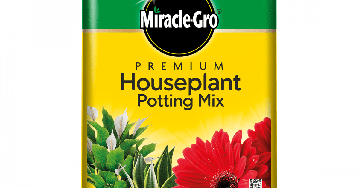 Miracle Gro Premium Houseplant Potting